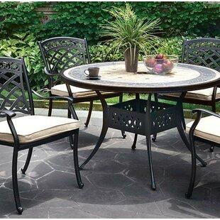 Vogt Stone/Concrete Dining Table by Fleur..