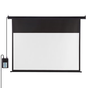 Excelvan White 100 Electric Projection Screen