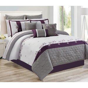 Peever 7 Piece Comforter Set