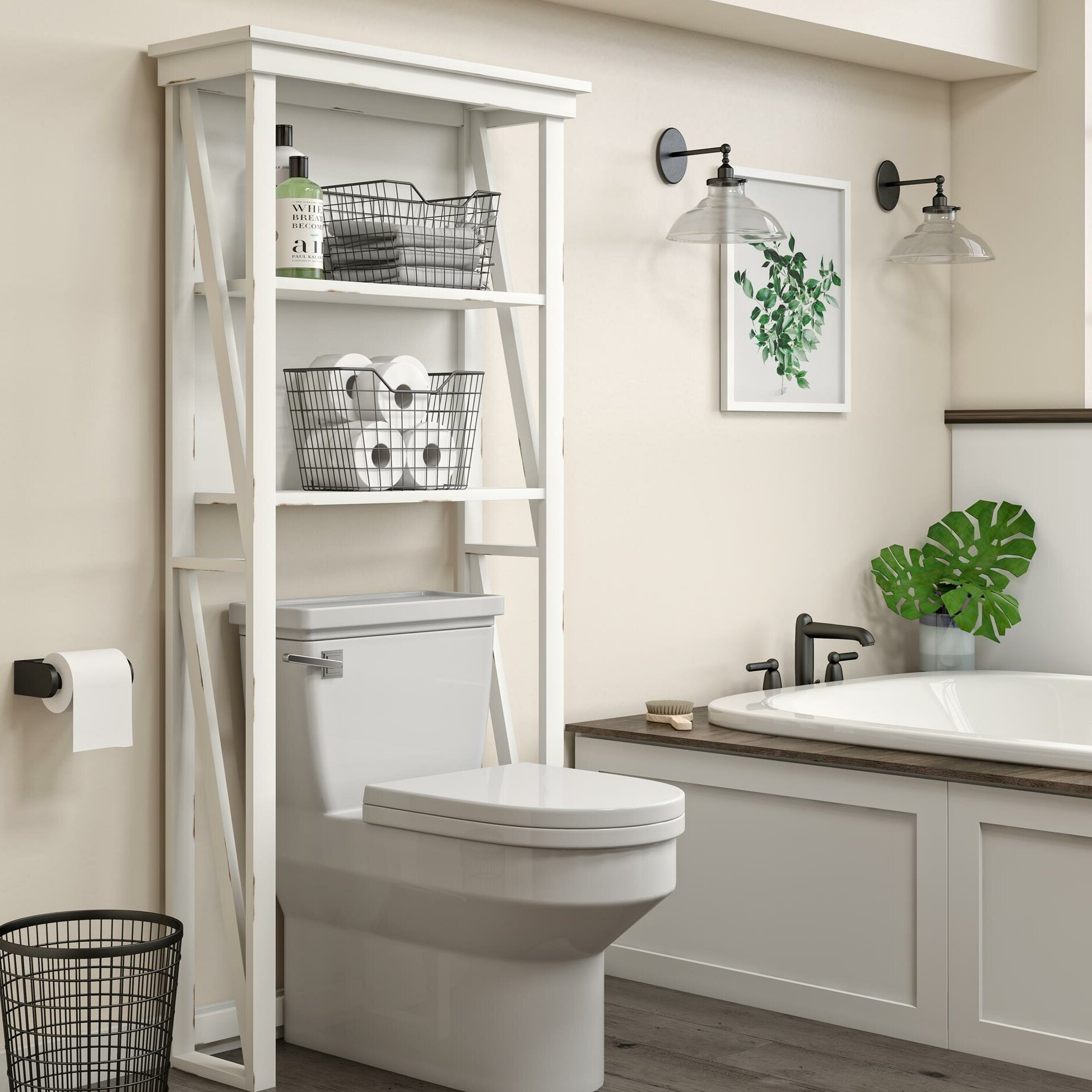 Wayfair Over The Toilet Storage You Ll Love In 2021