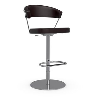 New York Adjustable Height Swivel Bar Stool