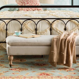 One Allium Way Mayotte Upholstered Bench
