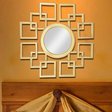 Geometric Wall Decorations - Schueller Wall Mirror