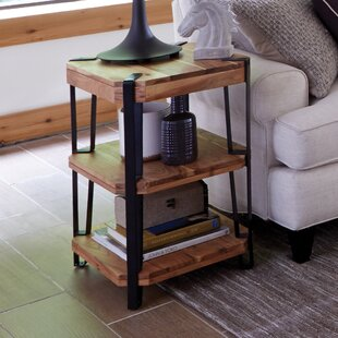 Tindal Live Edge End Table by Union Rustic New Design