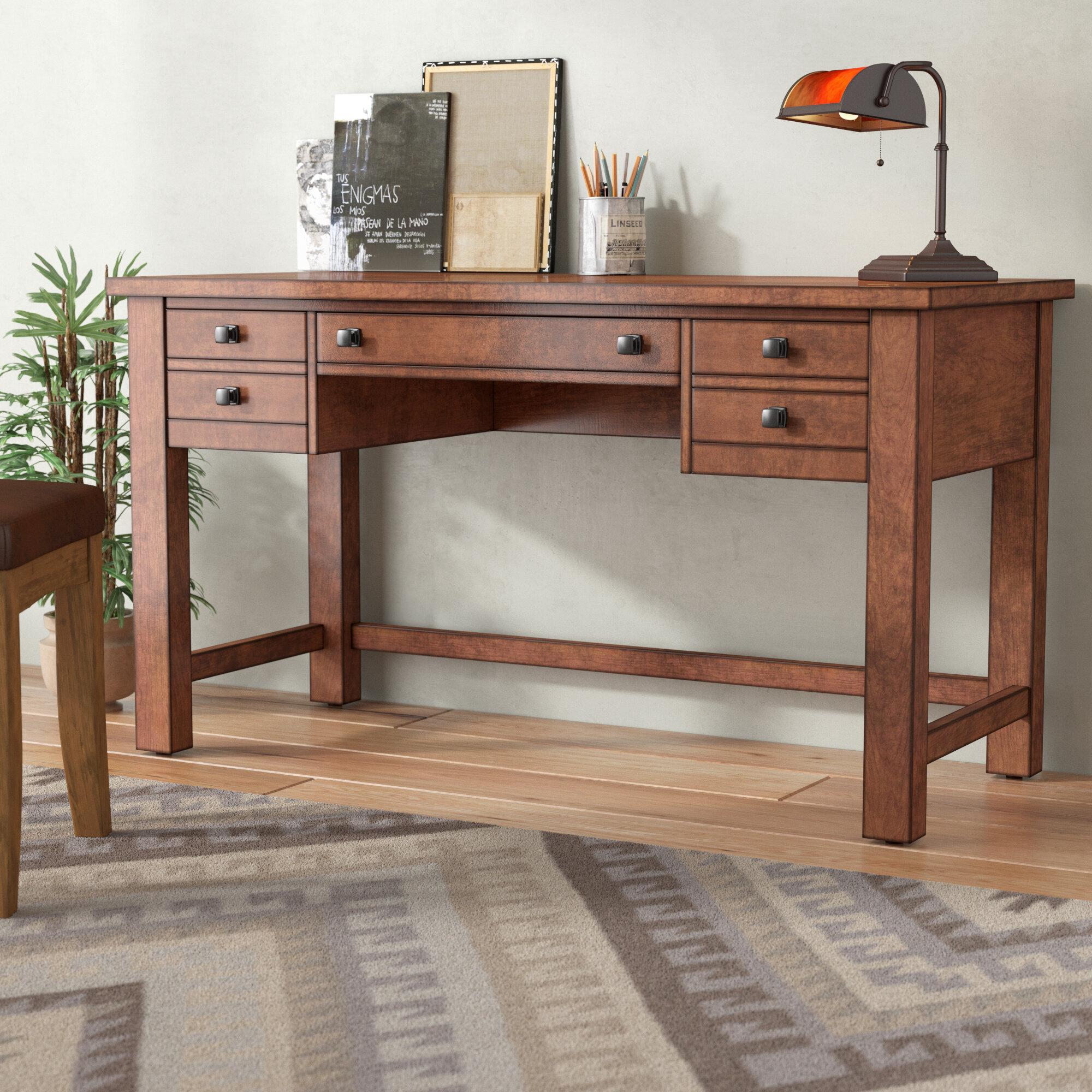 modern maple desk
