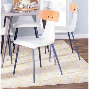 Boney Upholstered Dining Chair (Set of 2) George Oliver