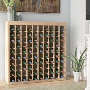 Karnes Pine Deluxe 100 Bottle Floor Wine ..