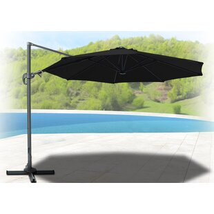 Justin OffsetRoma 11.5' Cantilever Umbrella by Symple Stuff