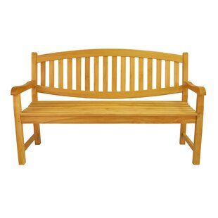 Kingston 3-Seater Teak Garden Bench