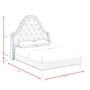 Caspian Upholstered Platform Bed