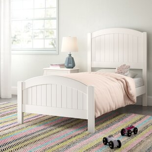Allbritton Twin Panel Bed by Harriet Bee Great price