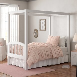 Shop for Isabelle Twin Canopy Bed by Viv + Rae Reviews (2019) & Buyer's Guide