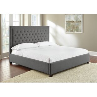 Reviews Hanlin Upholstered Platform Bed by Alcott Hill Reviews (2019) & Buyer's Guide