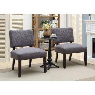 Gerow  3 Piece Slipper Chair Set by Ebern Designs