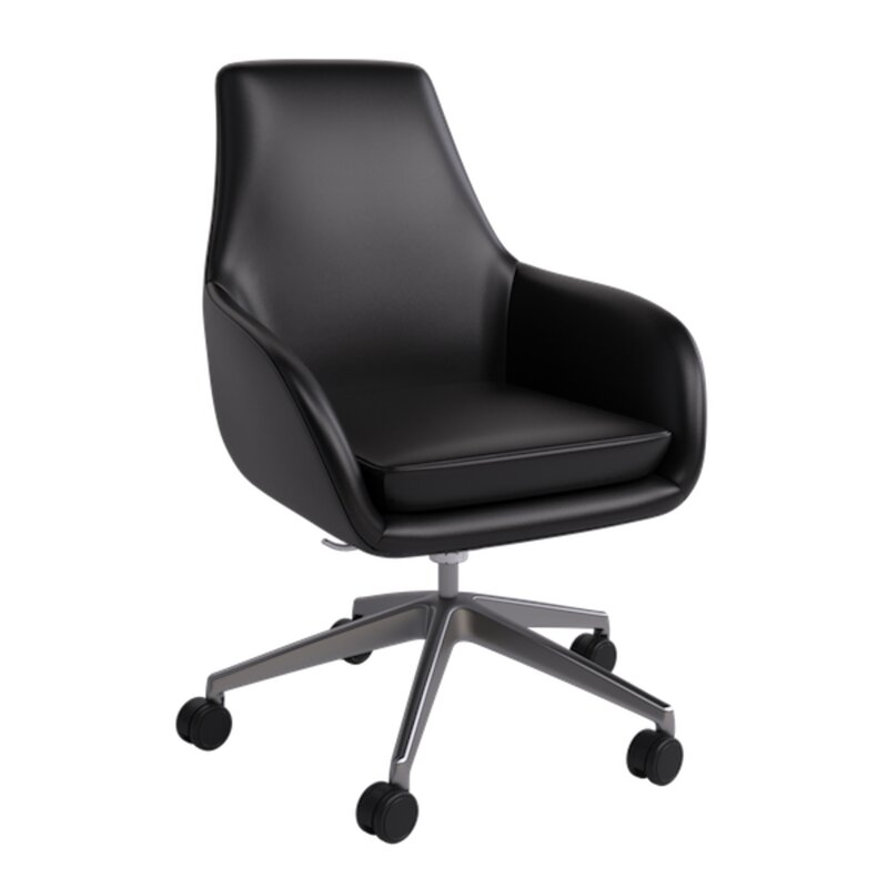 Hudson Leather Lounge Chair