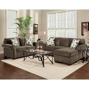 Wellsville Sleeper Configurable Living Room Set by Red Barrel Studio