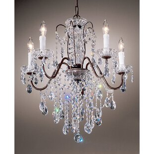 House of Hampton Letitia 5-Light Candle Style Chandelier