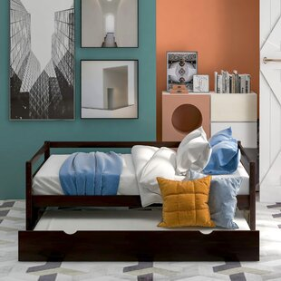 Harlyn Twin Day Bed with Trundle by Harriet Bee