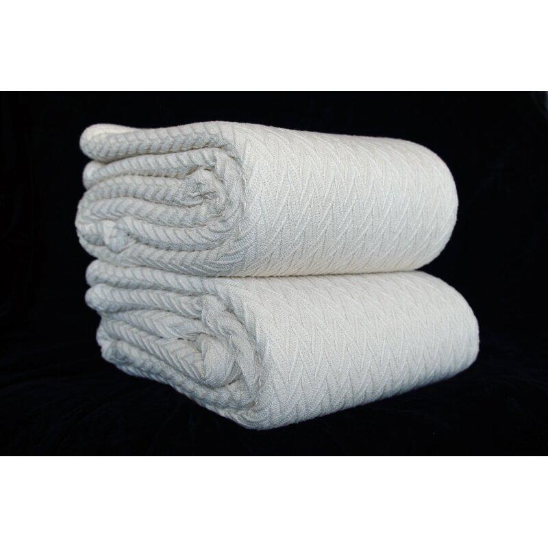 Canora Grey Dorey Cotton Blanket Wayfair