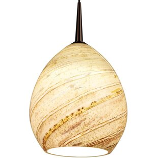 Bruck Lighting Vibe 1-Light Cone Pendant