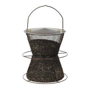 No/No Feeder Original Hourglass Tube Bird Feeder