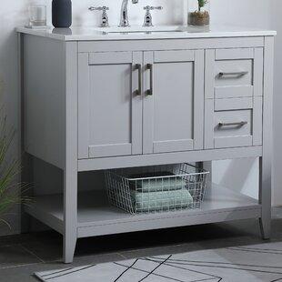 Gooden 36 Single Bathroom Vanity Set by Highland Dunes