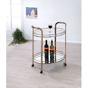 Gutierrez Bar Cart by Mercer41