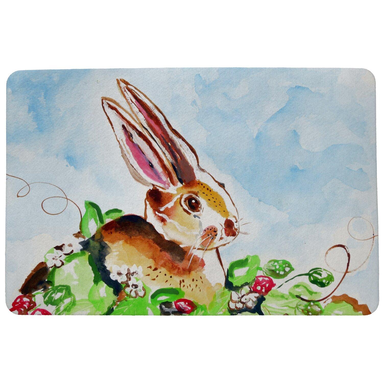August Grove Deveraux Rabbit Non Slip Outdoor Door Mat Wayfair