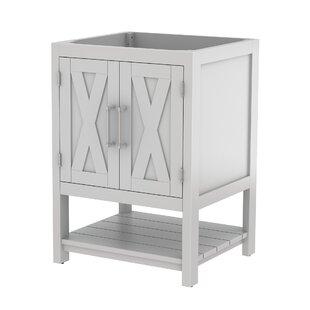 Freestanding 24 Single Bathroom Vanity Base Only By Bello