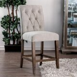 Sarita Solid Wood Bar Stool (Set of 2) by Gracie Oaks