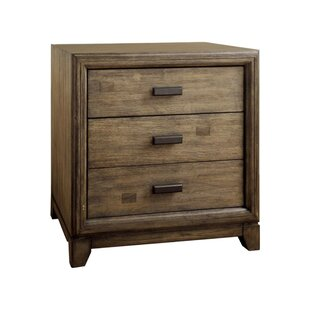 Polito 3 Drawer Nightstand