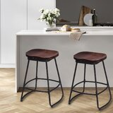 Prinsburg Swivel Counter & Bar Stool (Set of 2) by 17 Stories