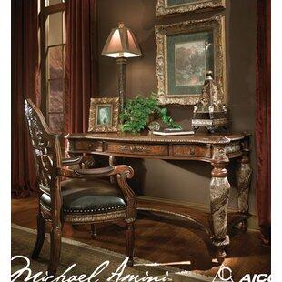 Villa Valencia Writing Desk and Chair Set by Michael Amini