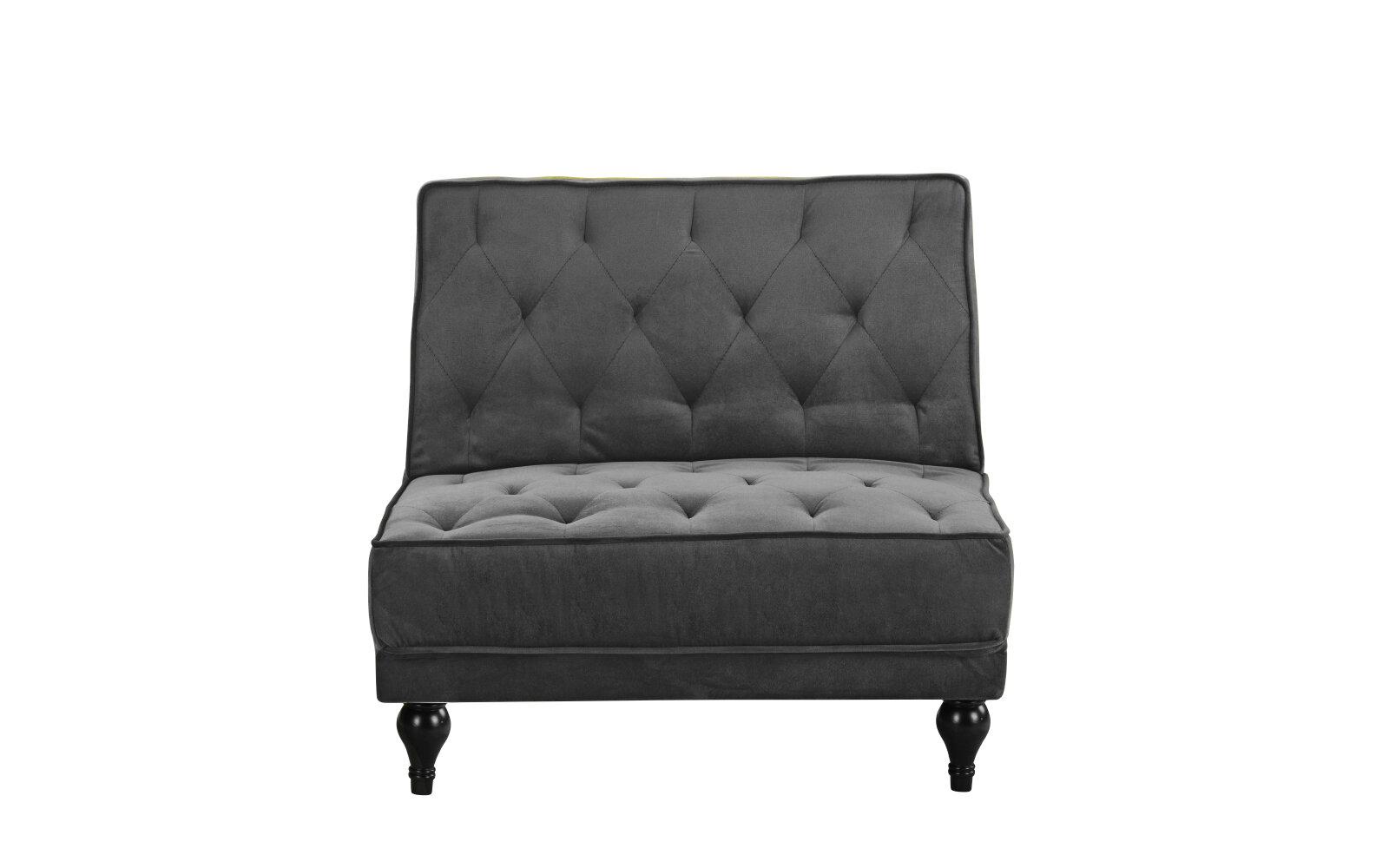 Charlton home damico diamond tufted convertible chair wayfair