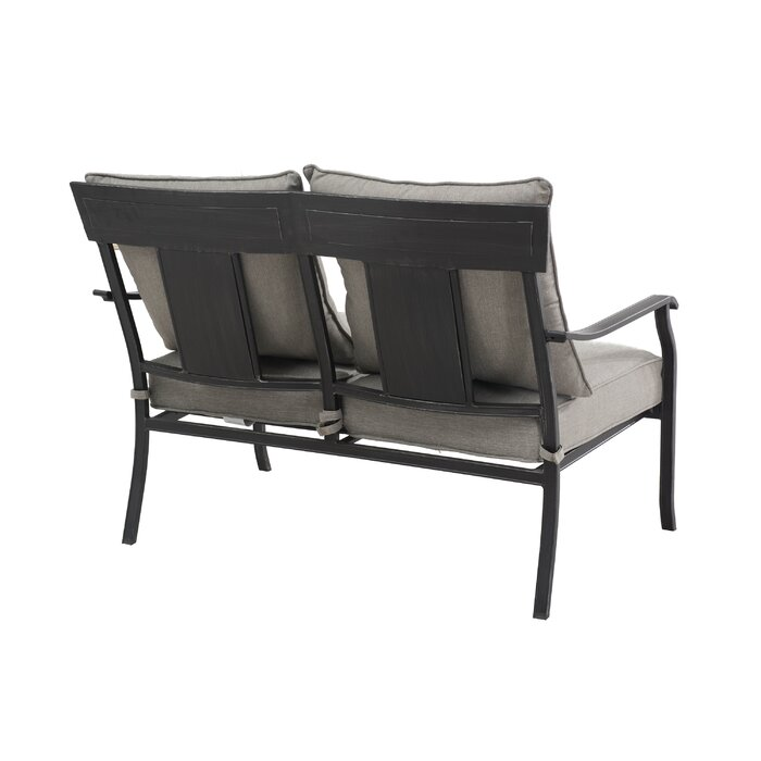 Swell Beeson Loveseat With Cushions Ncnpc Chair Design For Home Ncnpcorg
