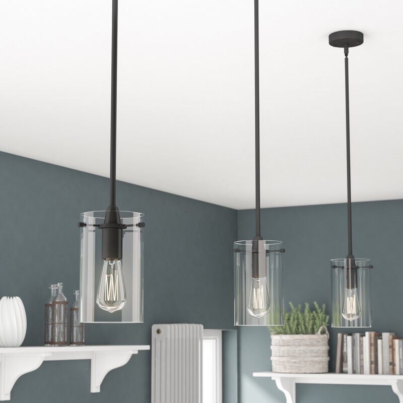 island astonishing lighting hanging over black fixture light pendant kitchen lamp captivating lights three