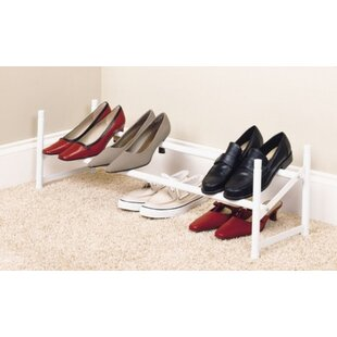 6 Pair Stackable Shoe Rack By Closetmaid