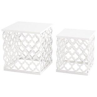 Cyan Design Cosmopolitan 2 Piece Nesting Tables