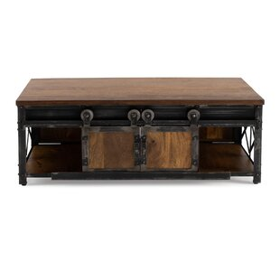 17 Stories Estella Coffee Table with Stor..