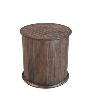 Caledonia End Table by Rosecliff Heights