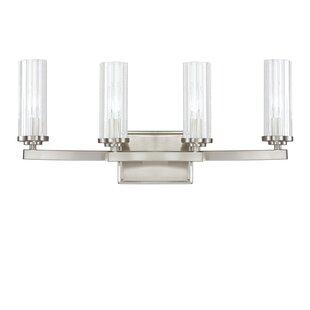 Emery 4-Light Vanity Light By Donny Osmond Home Wall Lights