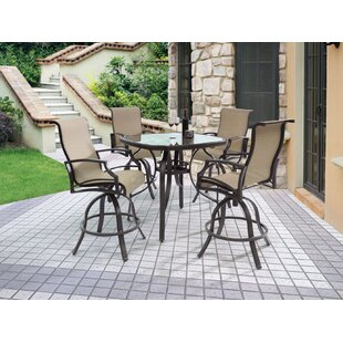 Chantilly Patio Bar Stool (Set of 4)
