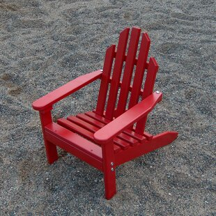 Prairie Leisure Design Kiddie Wood Adirondack Chair