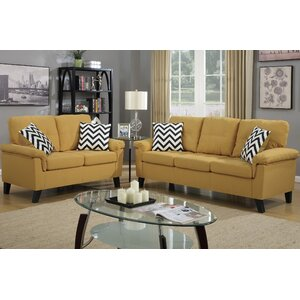 Sirra 2 Piece Living Room Set