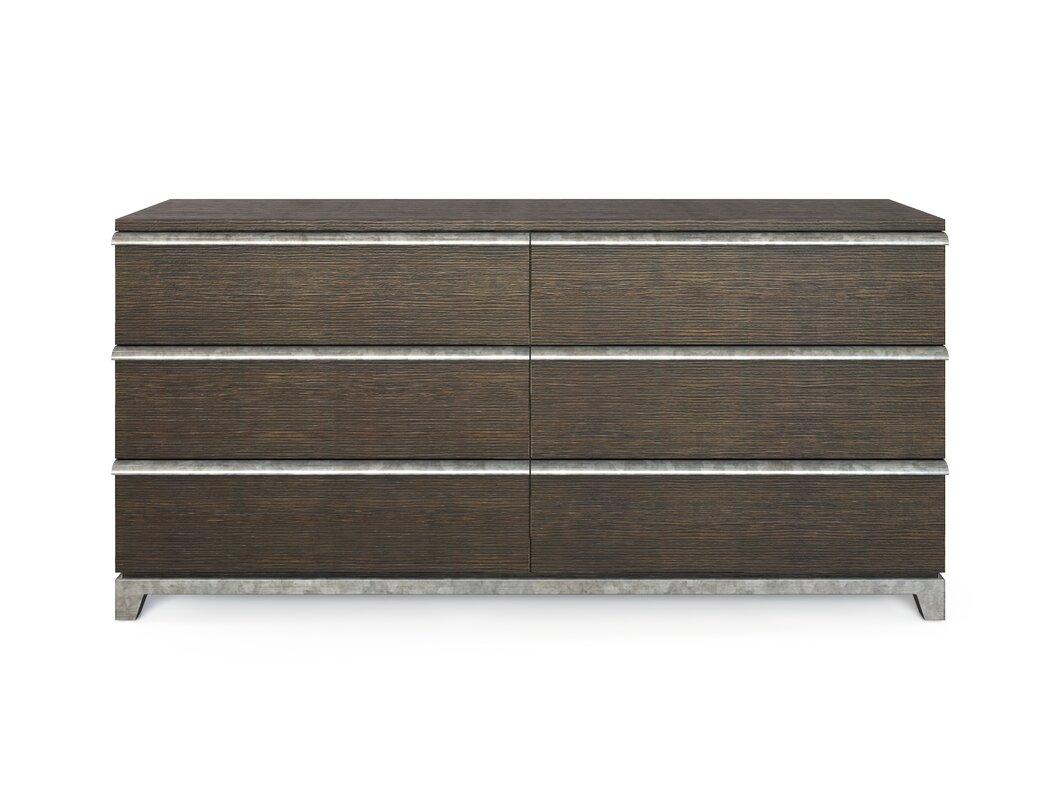 Stanley Furniture 6 Drawer Double Dresser