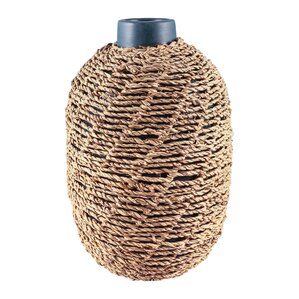 Natural Seagrass Table Vase