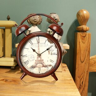 Merveilleux Vintage Inspired Table Clock