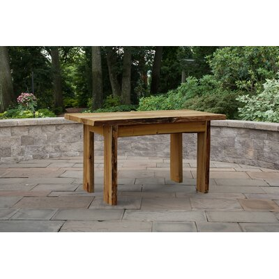 Raphael Solid Wood Dining Table by Loon Peak Discount