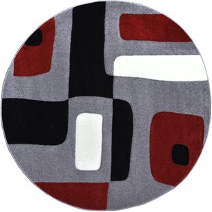 Berner Blocks Area Rug by Ebern Designs