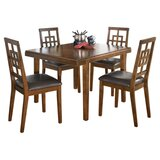 Sitz 5 Piece Dining Set by World Menagerie